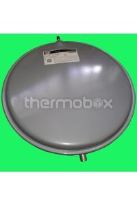 Бак расширительный 6 л плоский круглый (Ф = 40 см; толщины 45 мм, 3/8G)