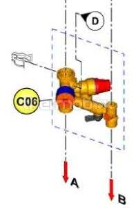 Гидроузел (38425880) Domicompact C24 код 39812130 Ferroli
