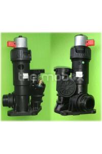 Клапан 3-х ходовой для водоблока с сервоприводом 0020020015 TecPro Vaillant