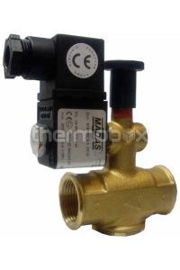 Клапан газовый электромагнитный M16/RMО NA Ду15, 500 мбар MADAS