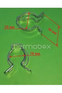 Клипса теплообменника отопления (34300600) 39840260 Domiproject Ferroli