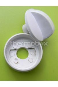 Рукоятка в корпусе крана газа Запорижанка