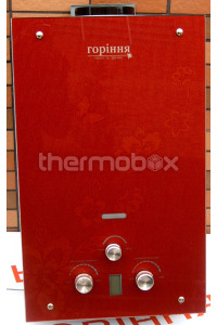 Колонка газовая Гориння 3D-red, 10L с Lcd (изображение 3D)
