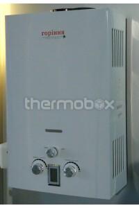 Колонка газовая Гориння белая 10L с Lcd