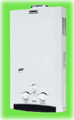 Колонка газовая Grandini JSD20 - 10 л, A4