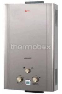 Колонка газовая Roda JSD20-A6 серебро LCD дымоходная