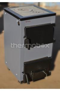 Котел угольно - дровяной с плитой ТТП-12с ProTech