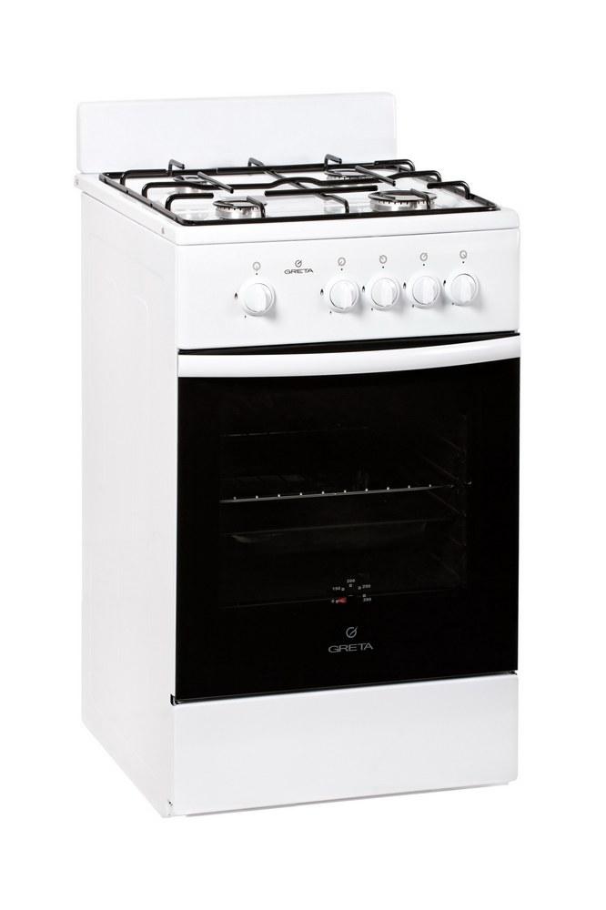 Плита газовая Greta 1470-00 исп 17 белая