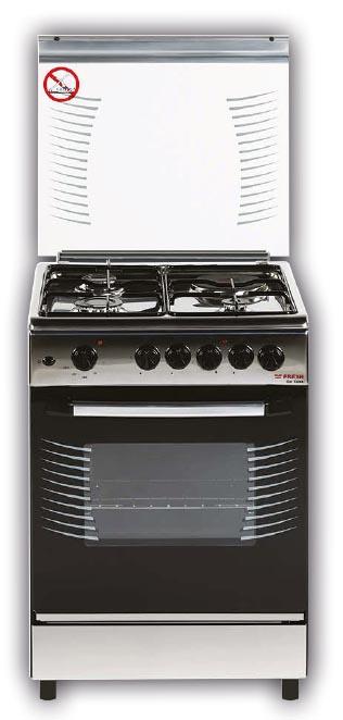 Плита газо-электрическая Fresh Italiano 60х60 нержавейка (3 газ + 1 эл, элДух)