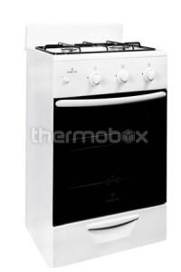 Плита газовая 2-х комфорочная 1201 исп.10 Greta белая