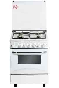 Плита газовая Fresh Italiano 60х60 белая (подсветка духовки, розжиг)