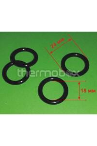 Прокладка (уплотнение резиновое)теплообменника на отопления DomiCompact DomiProject 39837690 Ferroli