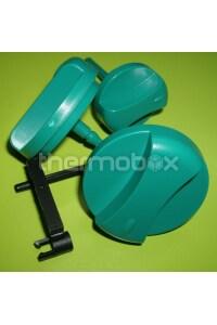 Ручки управления комплект 3 шт зеленые MAX серии 114286 Vaillant
