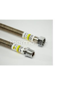 Шланг сталь. газ 1/2 нв 2м. EcoFlex