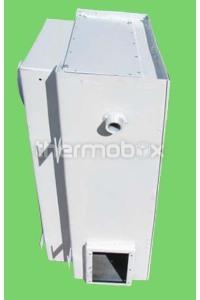 Теплообменник парапетного котла 7,4 и 12 кВт левый Дани Dani