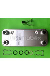 Теплообменник вторичный TurboMax Pro 242/2-3 H 065131Vaillant