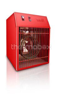 Тепловентилятор 18 кВт/380 В 1 ст.