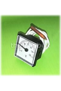 Термометр квадрат 45 мм, диапозон 0-120 С, капиляр 1000 мм, эл ф 6,5 х 31 мм 042066