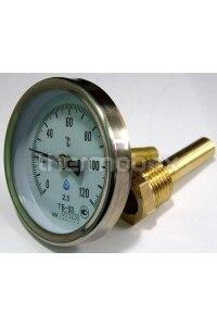 Термометр вкручиваемый большой с гильзой