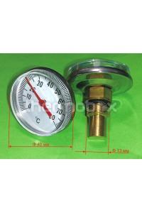 Термометр вкручиваемый малый