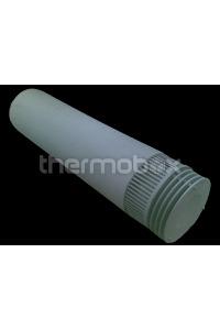 Труба коаксиал Дефлектор (внутри нержавейка) 7П, 10П, 16П (РОСС)