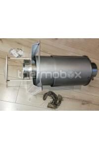 Труба приточно-вытяжная (дефлектор) от парапетного котла 16 кВт АТОН