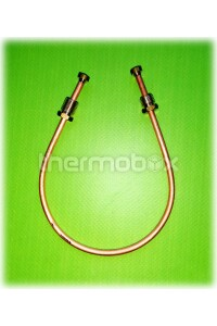 Трубка медная запальной горелки HoneyWell, 4 мм, 30 см М10-М10