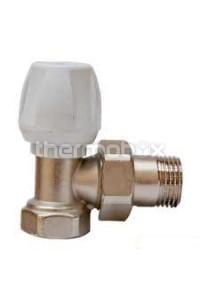 Вентиль радиаторный угловой на обратку 1/2 St